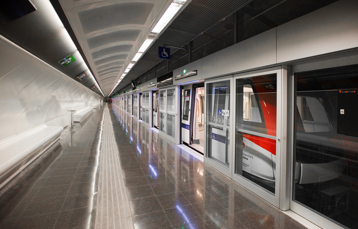 Darrera installs 4 wind stations in the new L9 line of the Barcelona Metro