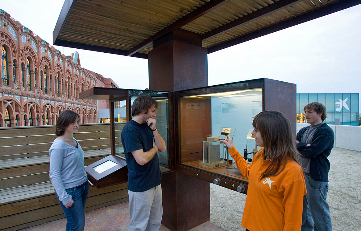 Darrera develops the new interactive weather exhibition of CosmoCaixa Barcelona