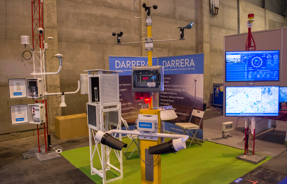 Darrera estuvo presente como expositor en la Meteorological Technology World Expo 2016 celebrada en Madrid