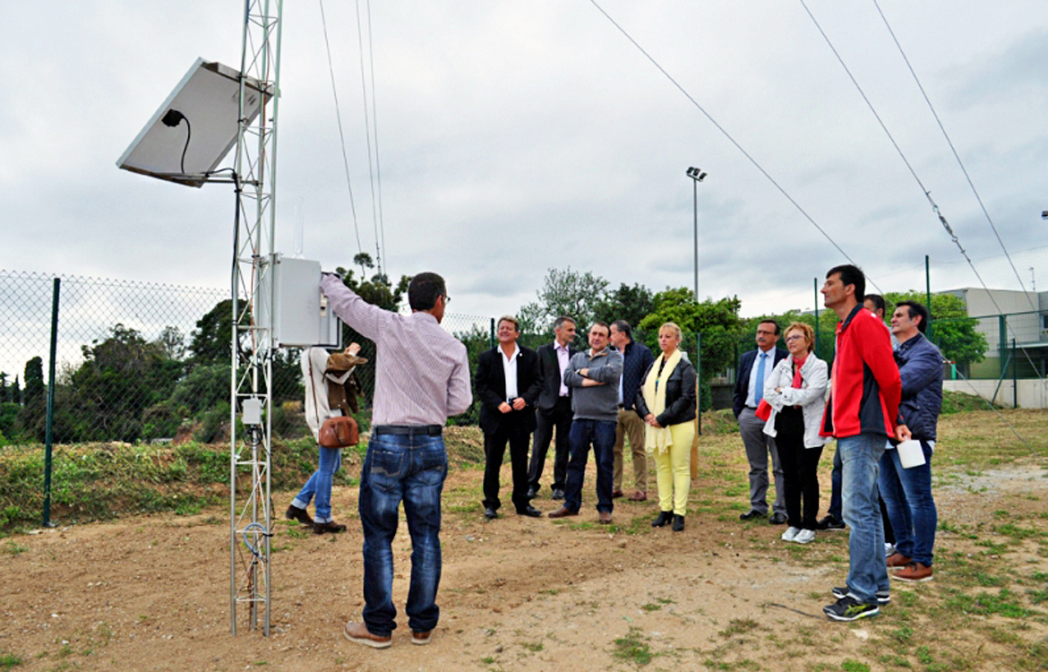 Darrera supplies 3 weather stations to the Maresme County Council