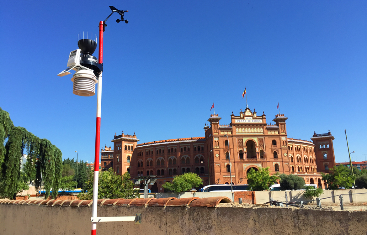 Darrera completes the supply, installation and commissioning of 7 additional weather stations for MeteoMetro, the new weather network of Metro de Madrid
