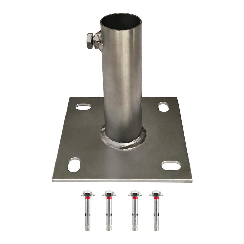 3R BASE01 - Galvanized Steel Mounting Base