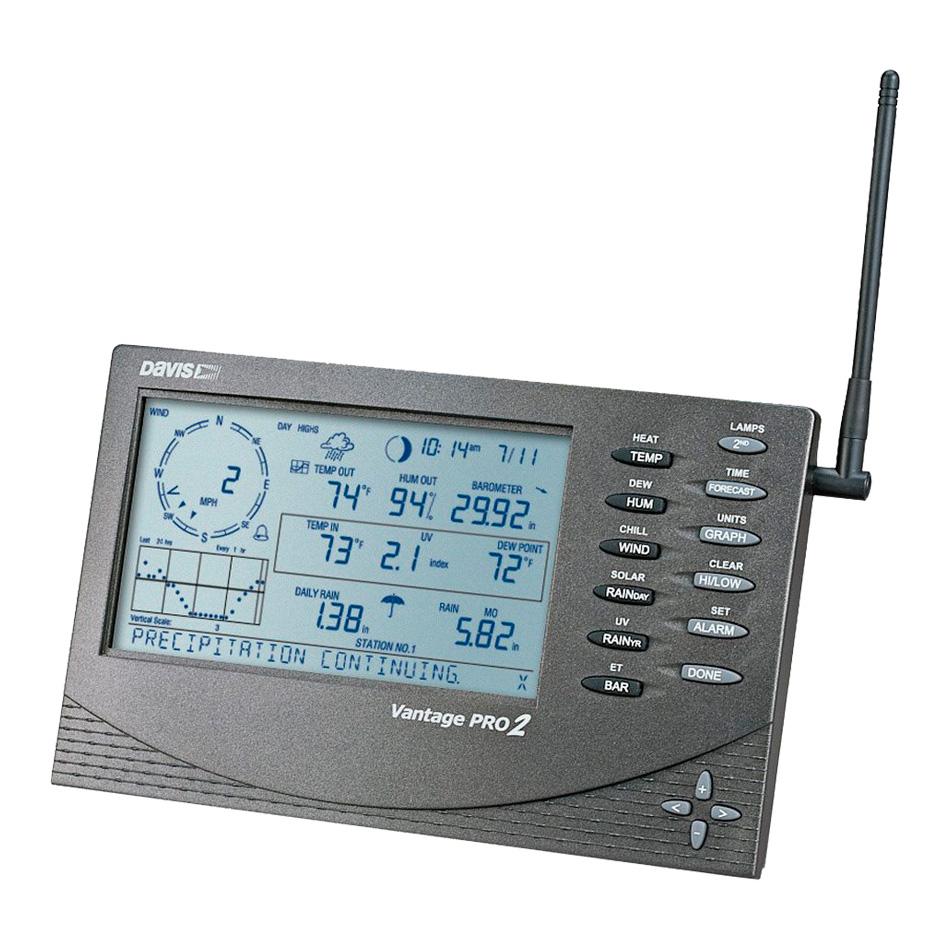 6312 - Consola para Vantage Pro2™ Inalámbrica