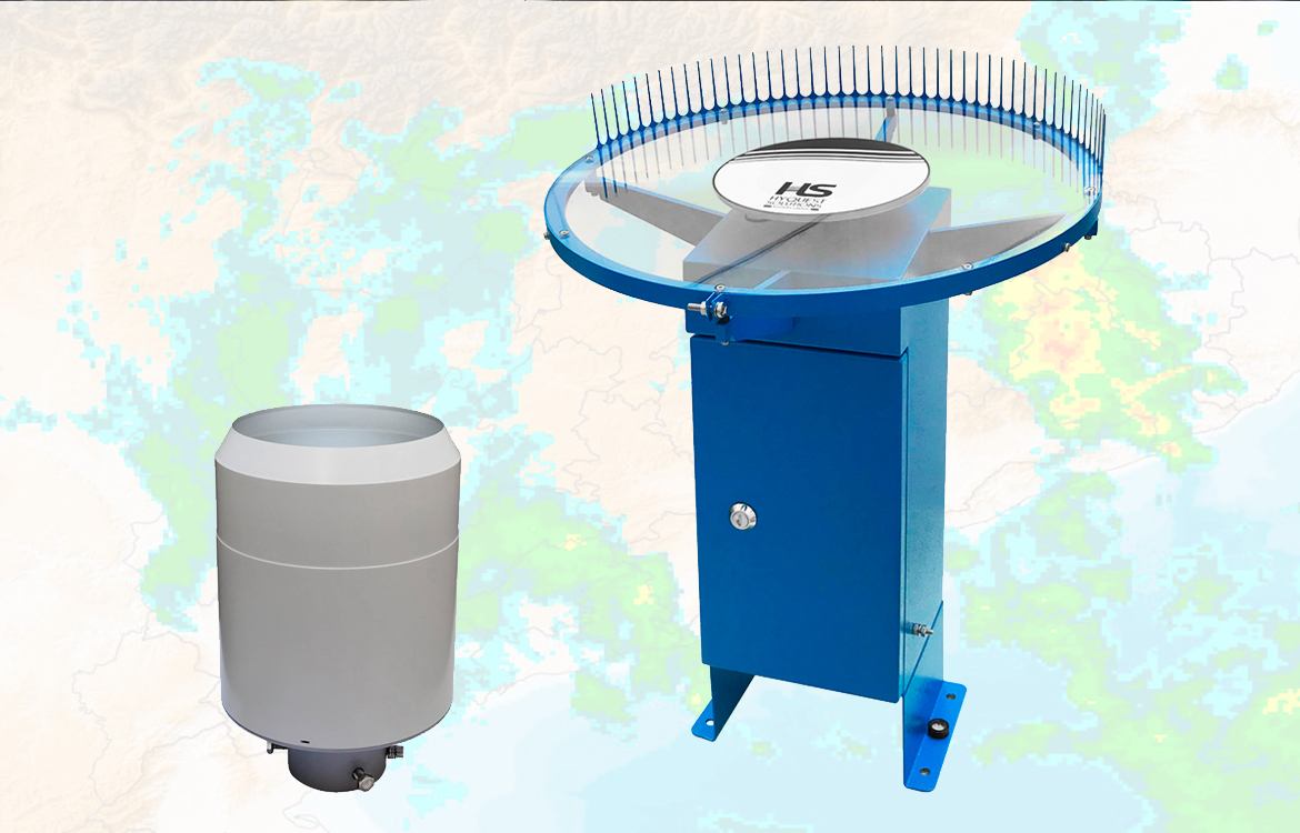 Darrera supplies 5 weighing rain gauges and a hail sensor to the Meteorological Service of Catalonia