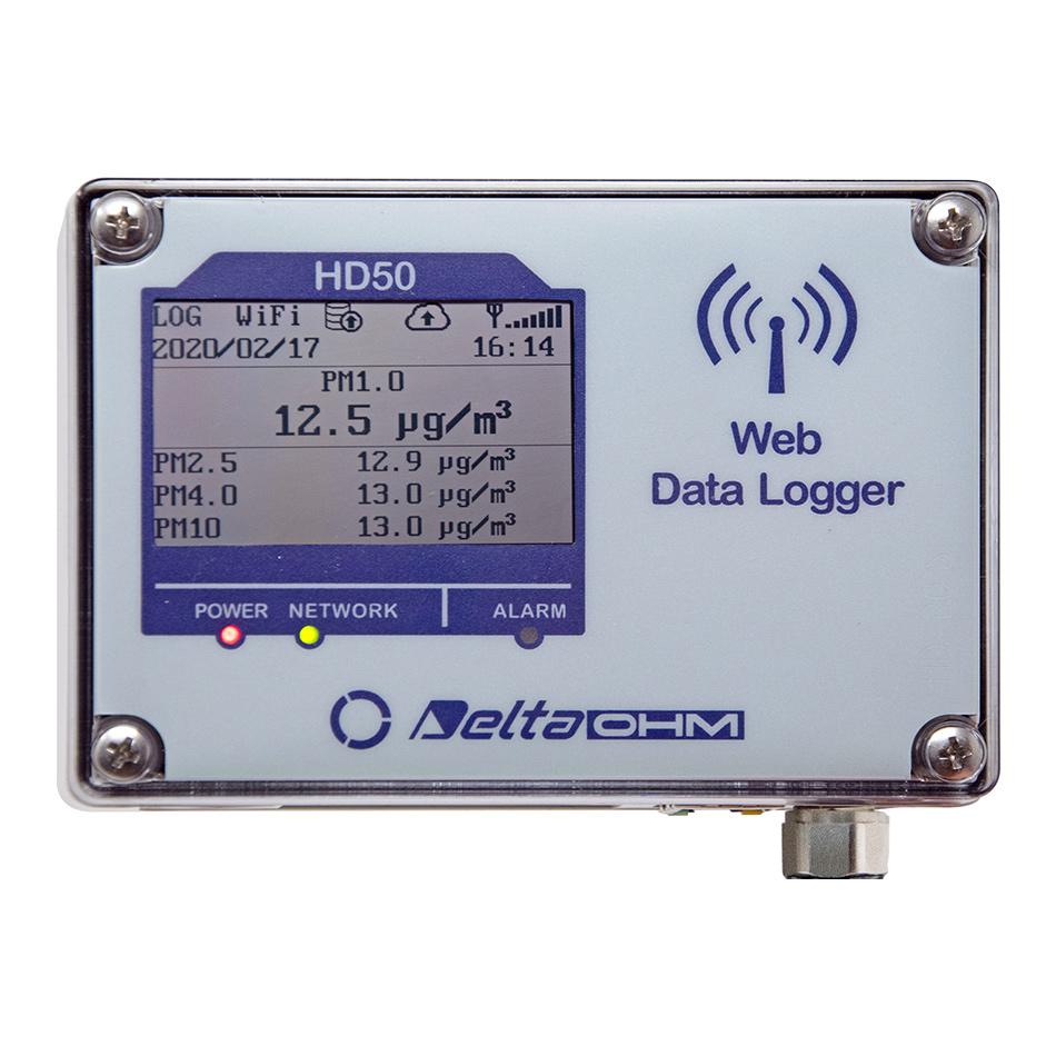 HD50PM - Medidor de Partículas Suspendidas en el Aire para Interior